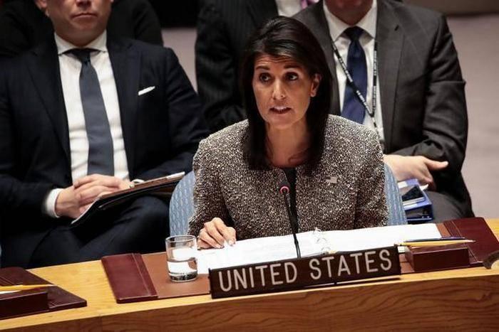 유엔 주재 미국 대표, 러시아를 친구로 생각하지 않음