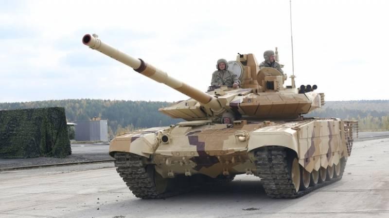 Un lote de tanques T-90C enviados a Irak