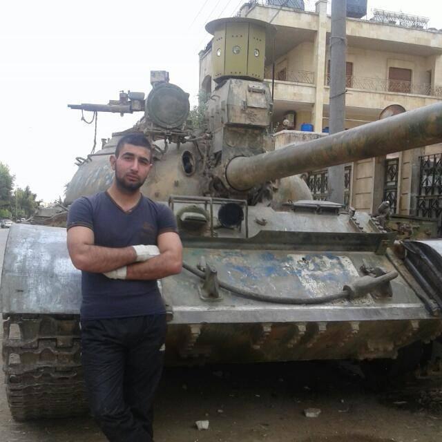 В Сирии замечен «сирийско-северокорейско-советский» танк