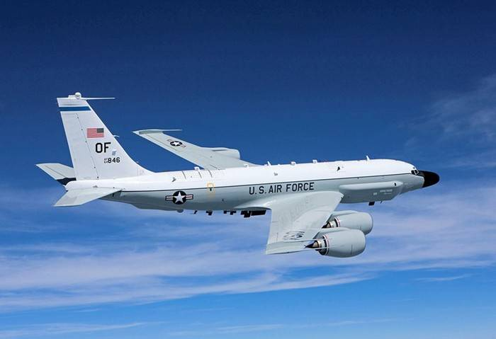 US increased number of reconnaissance flights in the Baltic