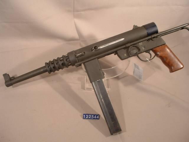 Пистолет-пулемет Gevarm D4 (Франция)