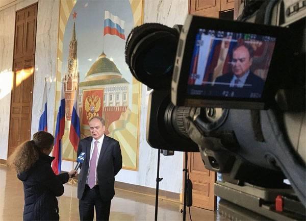 Der russische Botschafter kommentierte die neue Nukleardoktrin der USA