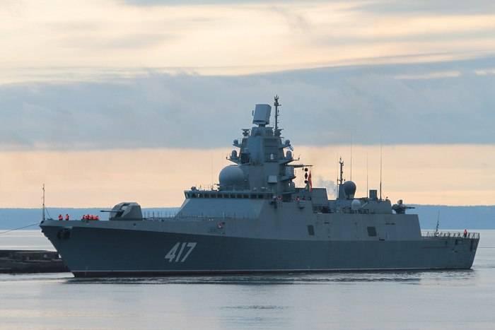 "В ОСК оценили сроки передачи флоту фрегата ""Адмирал Горшков"""