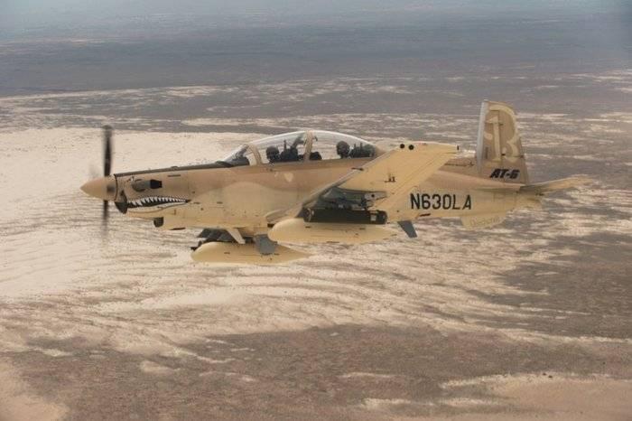 В финал тендера на легкие штурмовики для ВВС США вышли A-29 Super Tucano и AT-6 Wolverine