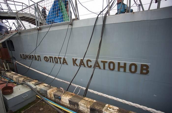 """ОСК: Готовность фрегата """"адмирал флота Касатонов"""" составляет 98%"""
