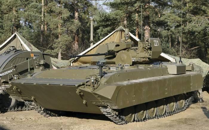 Словаки модернизировали лицензионную копию БМП-1