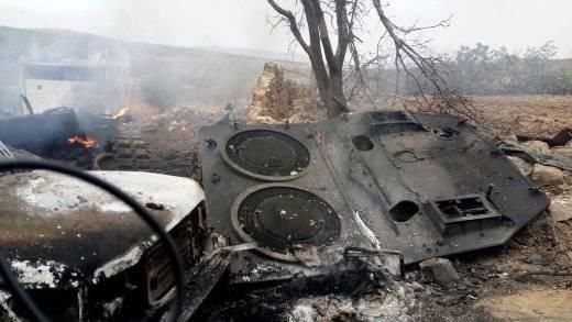 В Сирии полностью уничтожен турецкий танк «Леопард-2А4»