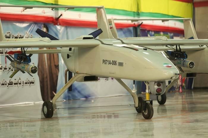 Иран наладил серийное производство БПЛА с высокоточным оружием