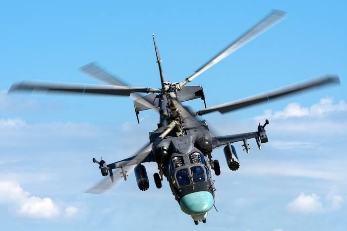 Минобороны намерено закупить 114 вертолетов Ка-52  в рамках новой ГПВ