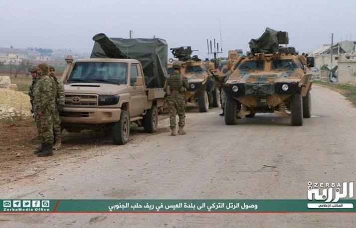 ГШ ВС Турции: Террористы атаковали турецкие войска в зоне деэскалации Идлиб