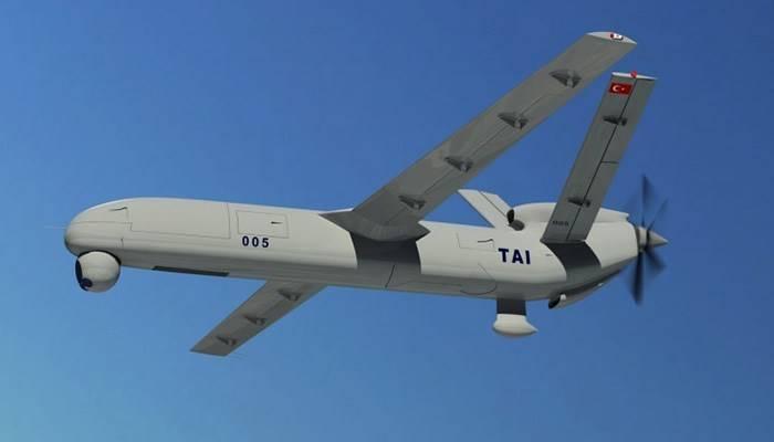 ВС Турции получили первые серийные отечественные дроны Anka-S