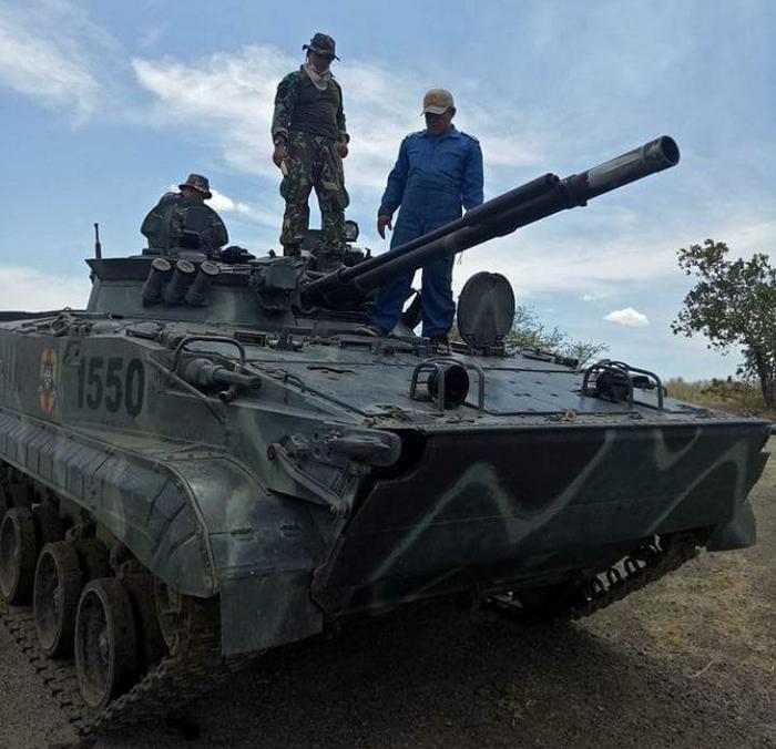 Россия подтверждает готовность поставить Индонезии новую партию БМП-3Ф