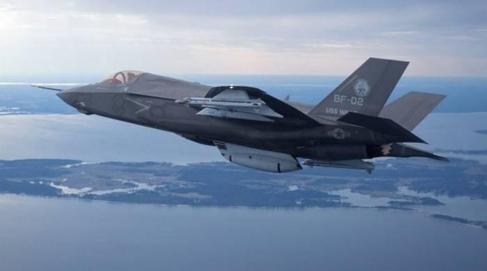 F-35 получит систему уклонения от столкновения с землей