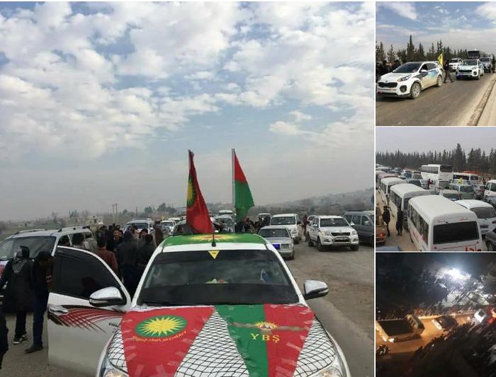 Курды в Африне получили подкрепление