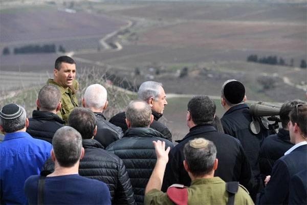 Нетаньяху на Голанских высотах предостерёг Тегеран от создания военных баз в Сирии