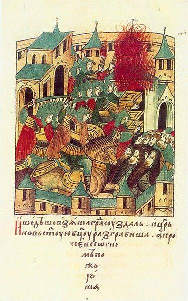 Come le truppe di Batu hanno preso d'assalto Vladimir