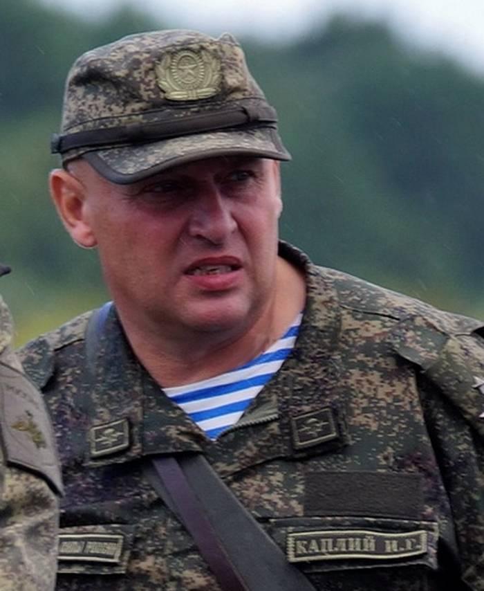 Командующий ВДВ представил личному составу Псковской ДШД нового командира соединения