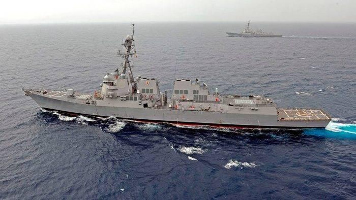 США дополнительно перебрасывают в Японию два ракетных эсминца