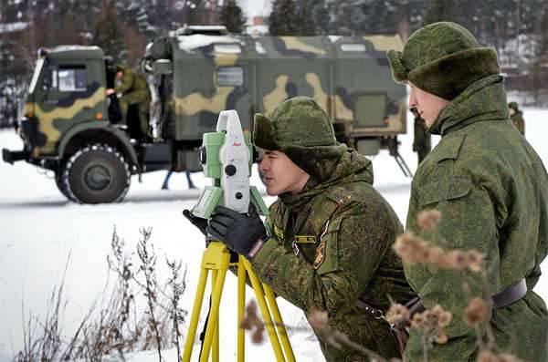 Dia do topógrafo militar. Com um mapa na frente