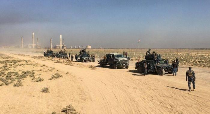 Иракская армия начала операцию по освобождению северных нефтеносных районов страны