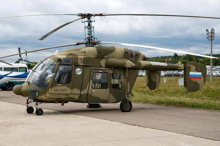 Вертолет Ка-226Т может получить новый двигатель