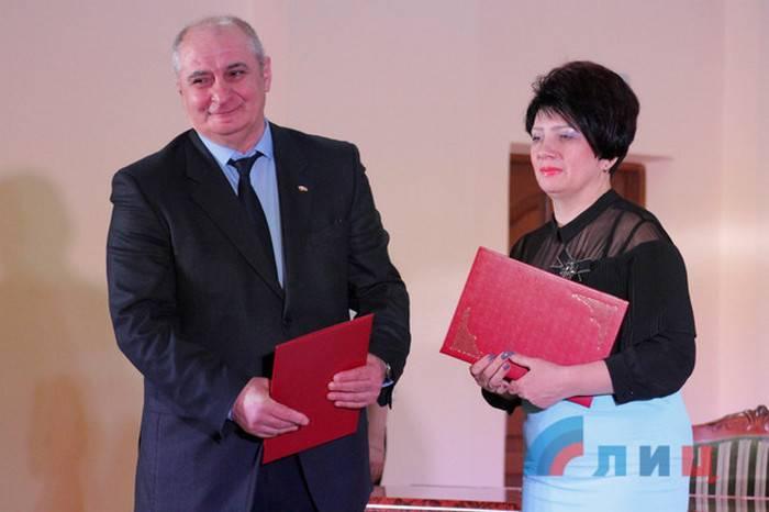 ЛНР и Южная Осетия договорились о сотрудничестве в различных сферах