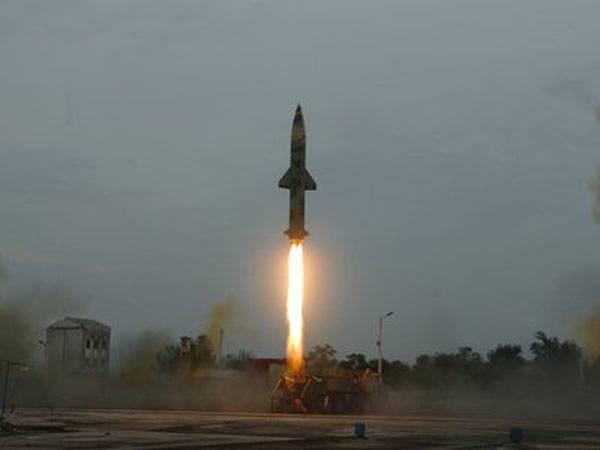 Индия провела очередное ракетное испытание. Теперь - Prithvi-II