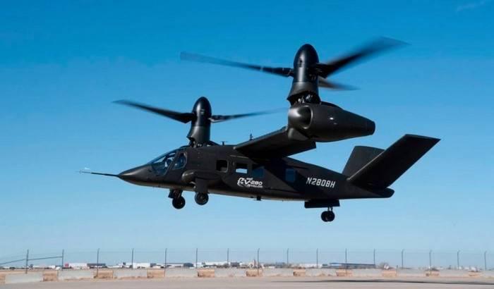В США провели новые испытания конвертоплана V-280 Valor