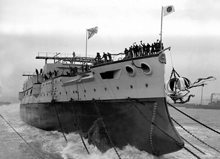 """Mikasa"" - savaş gemisi müzesi"