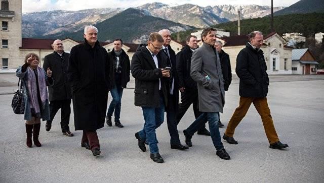 Немецкая делегация не обнаружила нарушений прав человека в Крыму