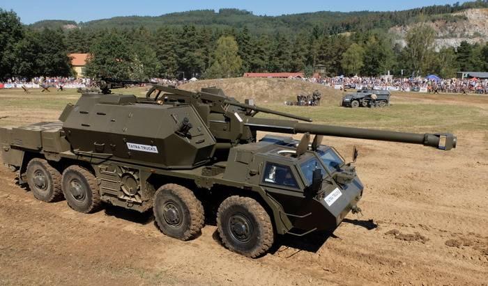 チェコ共和国は自走榴弾砲Danaをアップグレードすることを拒否