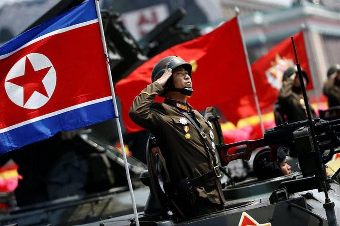 Северная Корея продемонстрировала военную мощь за день до старта Олимпиады
