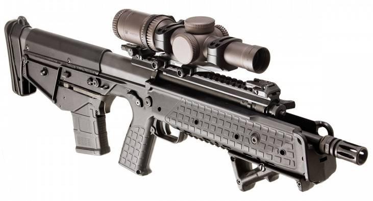 New 2018 weapons: Kel-Tec RDB-S survival rifle and its progenitors