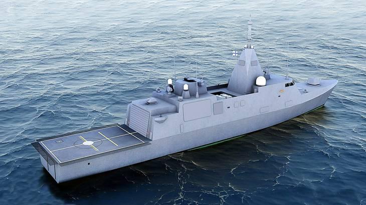 Перспективные корветы для финского флота (программа Laivue 2020)