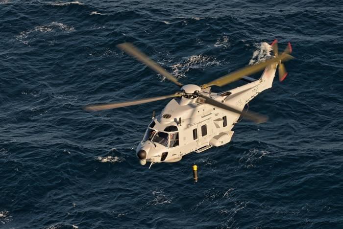 Aufgrund der hohen Kosten wird Schweden möglicherweise den Einsatz von U-Boot-Hubschraubern der Marke NH90 einstellen