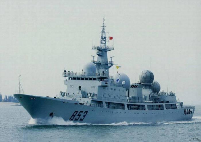 В Китае спущен на воду девятый разведывательный корабль «Тип-815A»