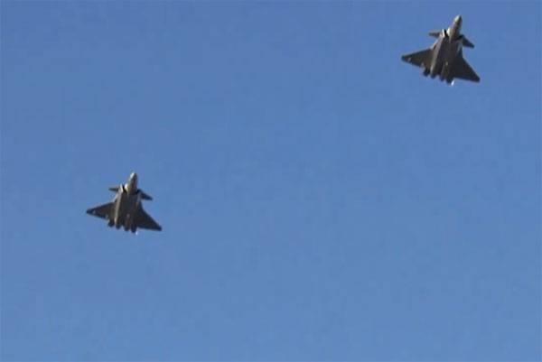 In China nahm ein Kämpfer 5-Generation J-20