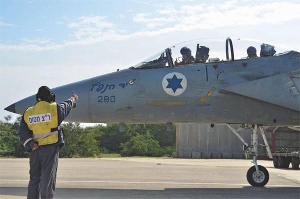 Сирийская ПВО сбила самолёт ВВС Израиля