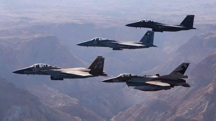 이스라엘 군대는 시리아에 대한 공격을 격퇴하는 데 참여하지 않는다.
