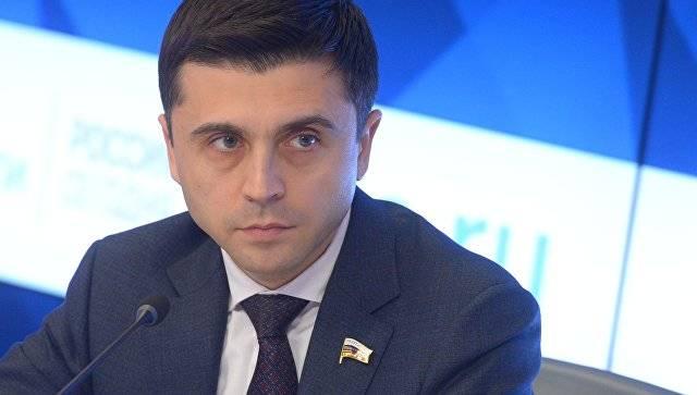 Бальбек прокомментировал слова украинского политика об отказе Киева воевать за Крым