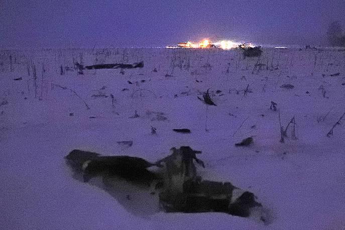 교외에 추락 한 An-148의 모든 승객이 사망했습니다.