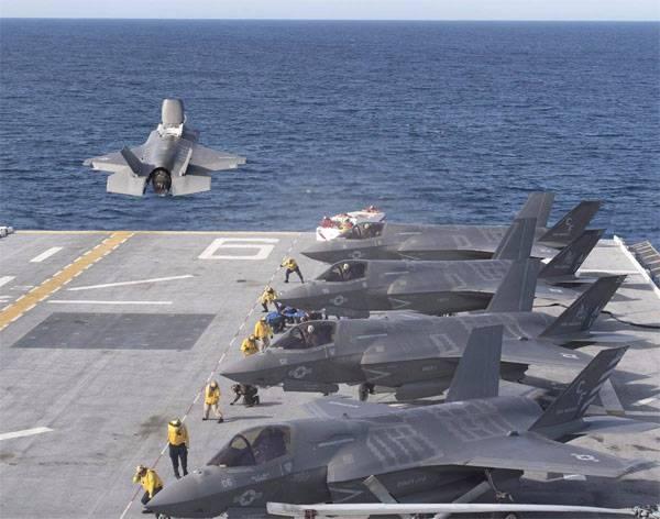 Япония намерена закупить партию F-35B