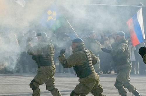 Десантники 56-й одшб совершают лыжный супермарафон в честь юбилея Рязанского ВВДКУ