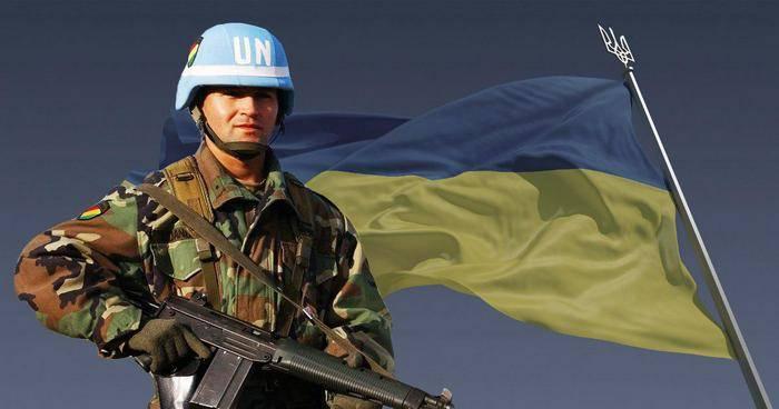 Киев выдвинул предложения по числу и странам происхождения миротворцев в Донбассе