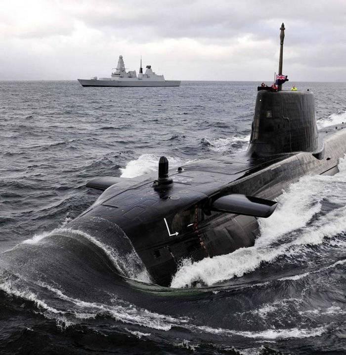 Великобритания отложит создание двух новых ядерных подлодок