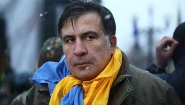 Saakaschwili nach seiner Inhaftierung in Kiew nach Polen geschickt