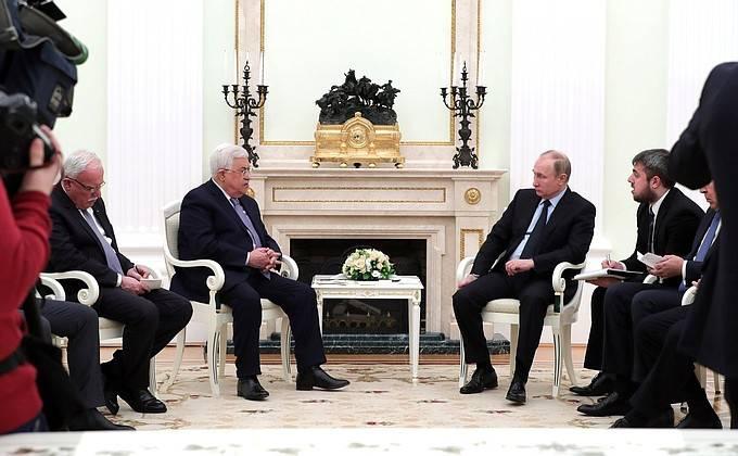 Abbas, Putin ile yaptığı görüşmede: Filistin ABD arabuluculuğunu reddediyor