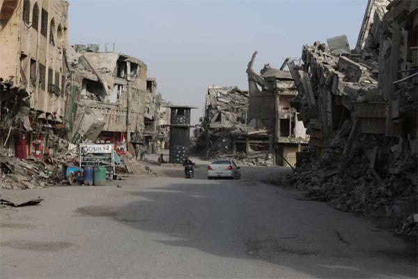 Irakischer Minister: Wir gehen davon aus, dass 80-90 Milliarden Dollar das Land wieder aufbauen werden