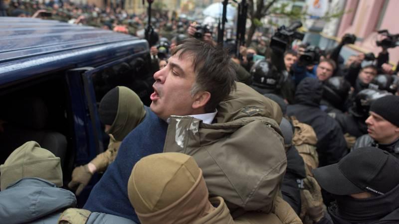 Saakaschwili forderte Merkel und die EU auf, gemeinsam mit Poroschenko zu kämpfen