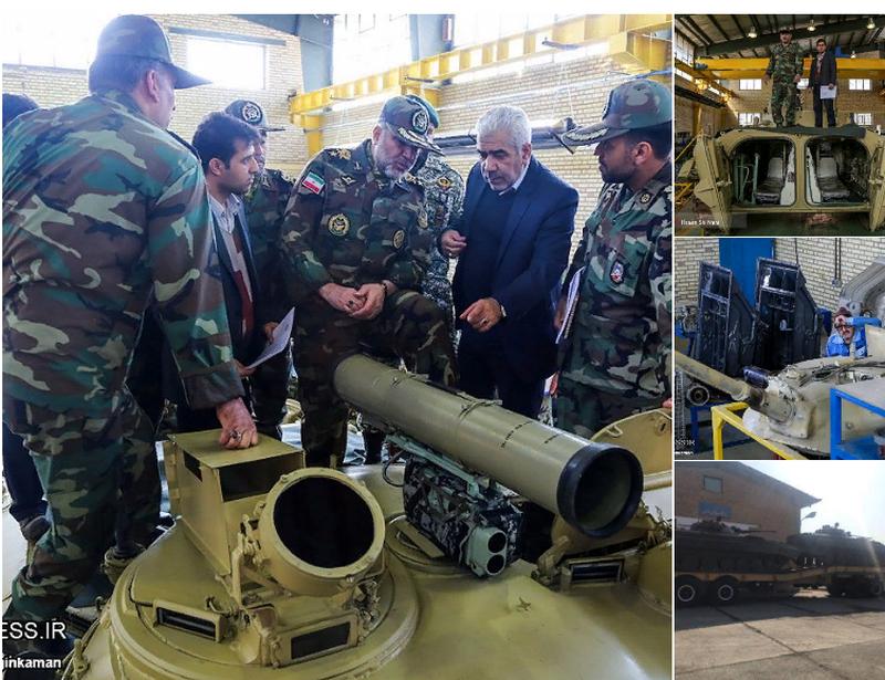 L'Iran ha iniziato la modernizzazione dell'esercito BMP-2 in servizio